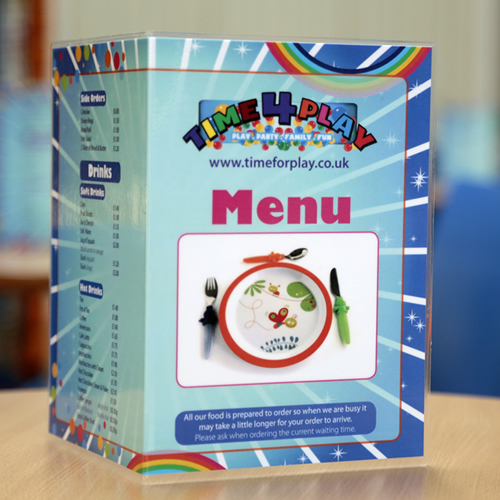 Great food menu