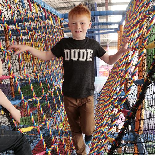 Net Climbing